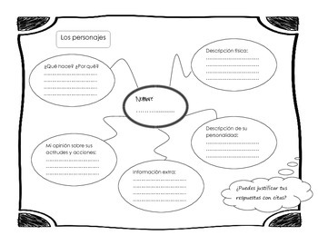 Graphic Organizers in Spanish (stories, plays, poems)