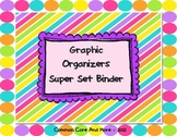 Graphic Organizers super set binder {Reading Response} Story Maps {Venn Diagram}