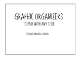 Graphic Organizers to Pair with any Literature Text