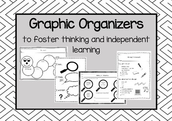 Graphic Organizers to foster thinking and independent learning