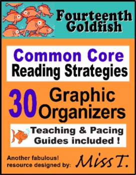 Graphic Organizers to use with Fourteenth Goldfish by Jenn