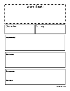 Graphic Organizers with Word Banks
