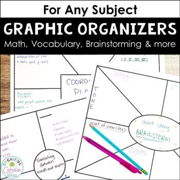 Graphic Organizers/Templates (Rectangular and Square)