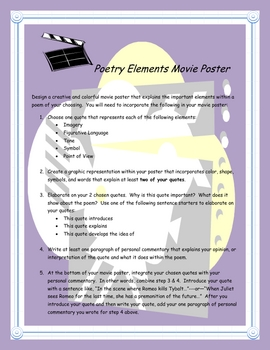 Poetry: Literary Elements Movie Poster