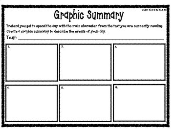 Graphic Summary Organizer