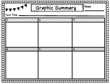 Graphic Summary Organizers