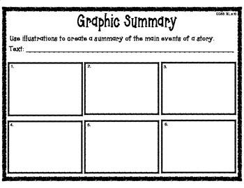 Graphic Summary Story Organizer
