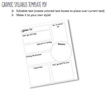 Graphic Syllabus Template