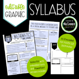Graphic Syllabus and Poster