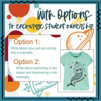 Graphic Tee Journal Prompts for Creative Writing