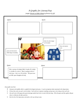 Graphic for Literacy Text