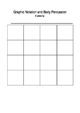 Graphic notation template