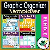 Graphic organizers templates bundle