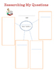 Graphic organizers for asking and answering questions for research reports