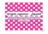 Graphic organizers, writing, Spanish