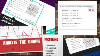 Graphical Analysis Bundle...plus a couple extras