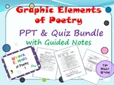 STAAR Reading Minilesson - Poetry: Graphical Elements Bundle