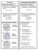 Graphical Transformations Foldable