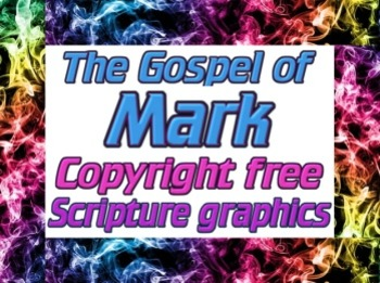 Graphics: 10 copyright free scripture JPEGs from Mark