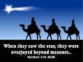 Graphics: 123 copyright free Christmas scripture .JPEGS