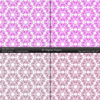 Graphics Book Texture Collag Layout A4 Album Digital Premade Art Supplie Set Jpg