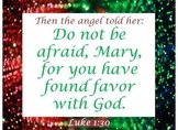 Graphics: Christmas & Jesus birth scriptures