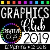 Graphics Club 2019 {Creative Clips Clipart}