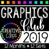 Graphics Club 2019 Bundle {Creative Clips Clipart}