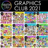 Graphics Club 2021 {Creative Clips Clipart}