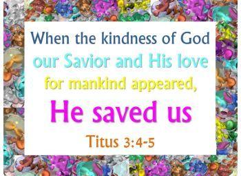 Graphics: Copyright free Titus scriptures