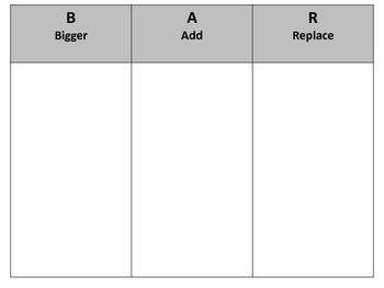 Graphics Organisers (Set of 22)