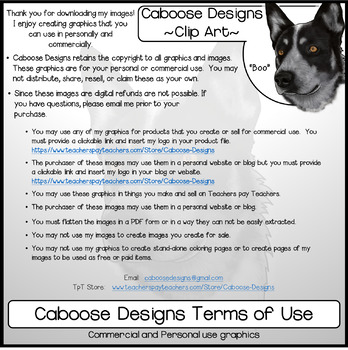Caboose Designs Graphics Terms of Use