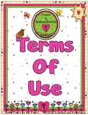 Terms of Use for Graphics by Doodles and Kreations