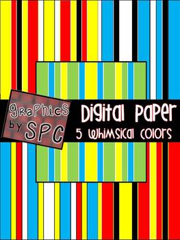 Digital Paper Whimsical Theme {Graphics by SPC}