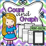 Graphs and Data: Graphing Worksheets & Graphing Activities