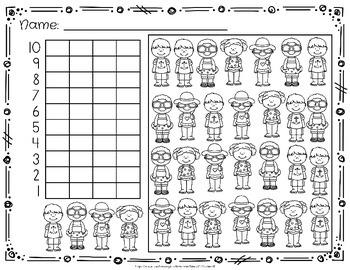 Graphing Worksheets for Kindergarten