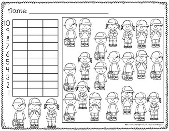 Graphing Activities First Grade