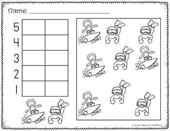 Graphing Worksheets First Grade
