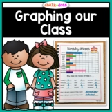 Bar Graphs: Graphing Our Class  #AUSTEACHERBFR