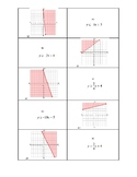 Graphing 2 Variable Inequalities Matching Activity Interac
