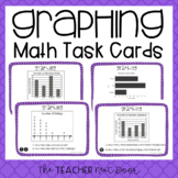 3rd Grade Graphing Task Cards | Graphing Math Center | Gra