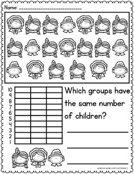 Thanksgiving Graphing Activities
