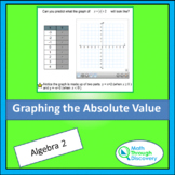 Algebra 1 - Graphing Absolute Value