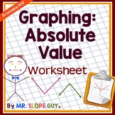 Absolute Value Graphing Worksheet