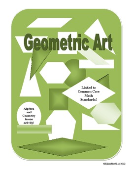 Graphing Accurate Geometry Shapes_Linked to Common Core Math Standards