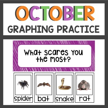 Halloween Graphing Activities October Themed