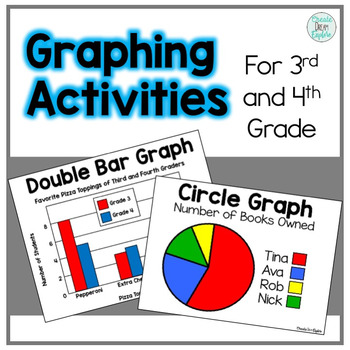 Double Bar Graphs Worksheets Teaching Resources Teachers Pay Teachers