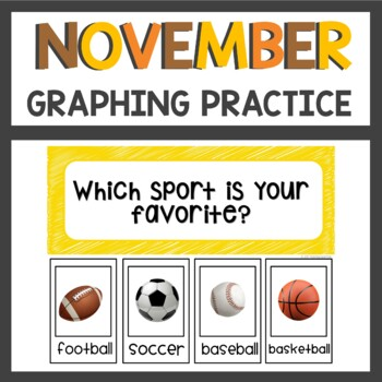 Graphing Activities for November