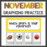 November Graphing Activities