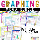Graphing Activity MEGA Bundle: Line Plots, Pictographs, Bar Graphs